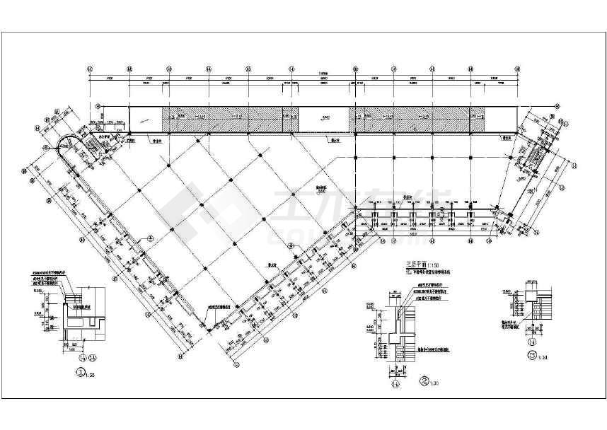 所属分类:商场设计 商业建筑 建筑图纸
