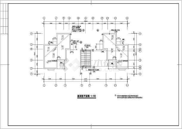 建筑设计说明,门窗统计表,剖面图,飘窗大样,二,四层平面图,立面图,三