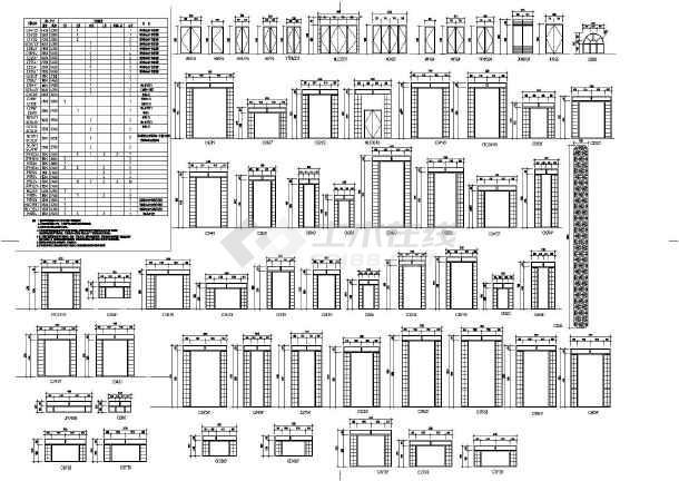 【江苏】某学校五层欧式综合楼建筑施工图
