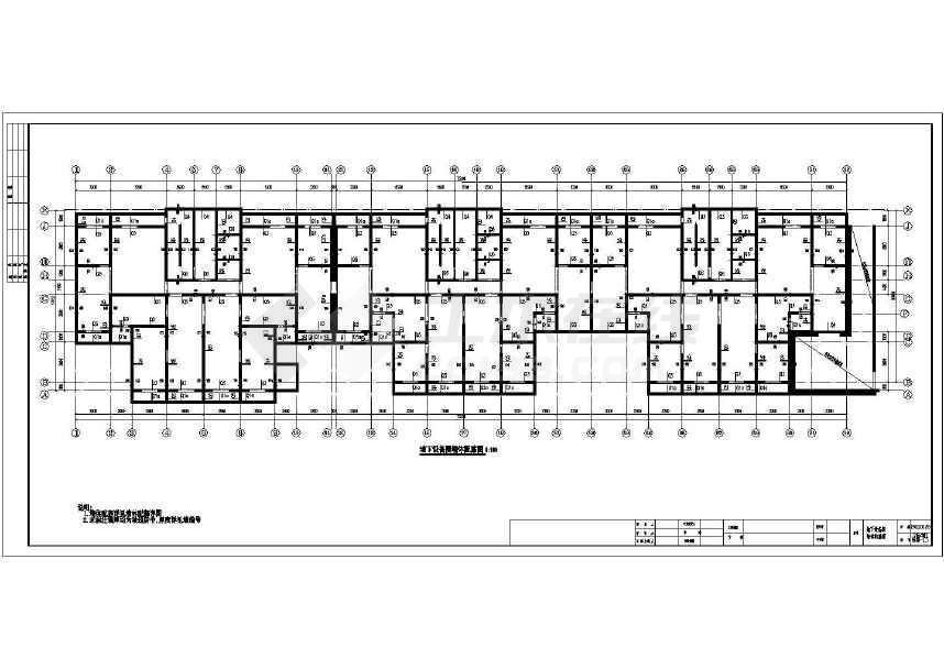所属分类:剪力墙结构住宅楼 剪力墙结构图纸 建筑结构图