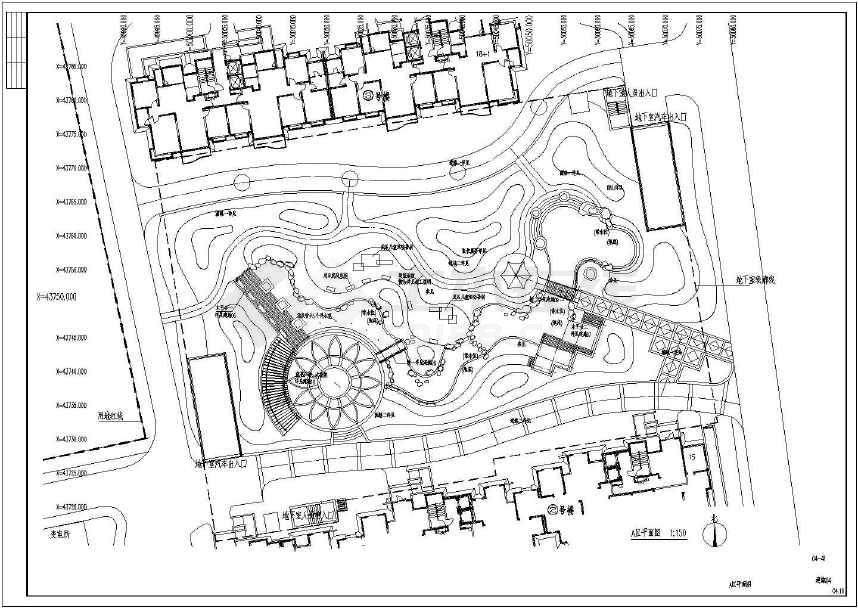 莲花广场平面图