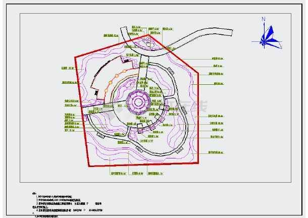 【浙江】某社区公园园林景观规划设计施工图