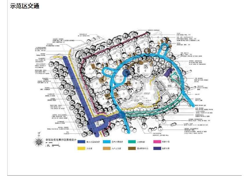 【长春】水彩画风宁静自然私家庭院设计方案(ppt格式)