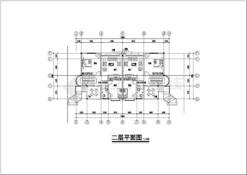 川南某处民居住宅楼建筑方案设计图