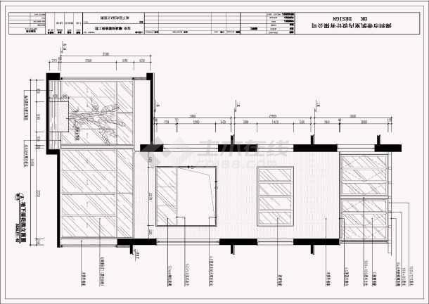 【保安】现代中式三层带地下室别墅室内装修施工图