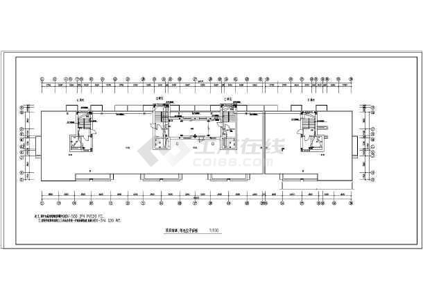 【江苏】二类电气住宅楼方法设计高层表示符号下载图纸加工图纸图片