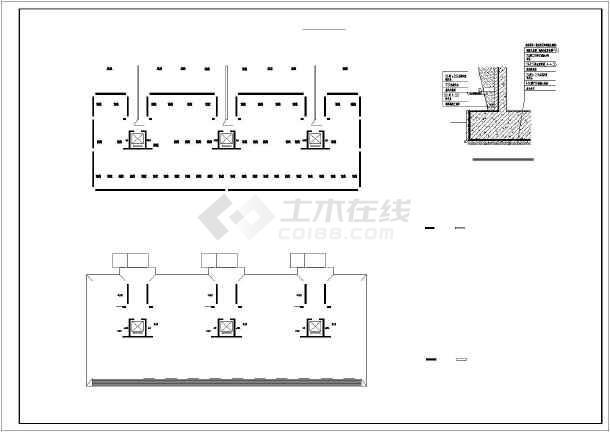 某十一层板式住宅楼建筑扩初图(底层为车库)图片