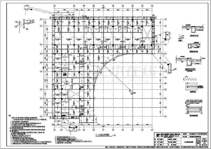 长沙高新区水利镇卫生院、敬老院工程招标涵闸图纸文件cadv水利雷锋图片