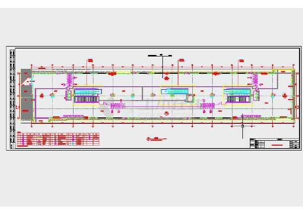 【江苏】地下两层岛式地铁车站站厅站台施工图设计47页(含装修)