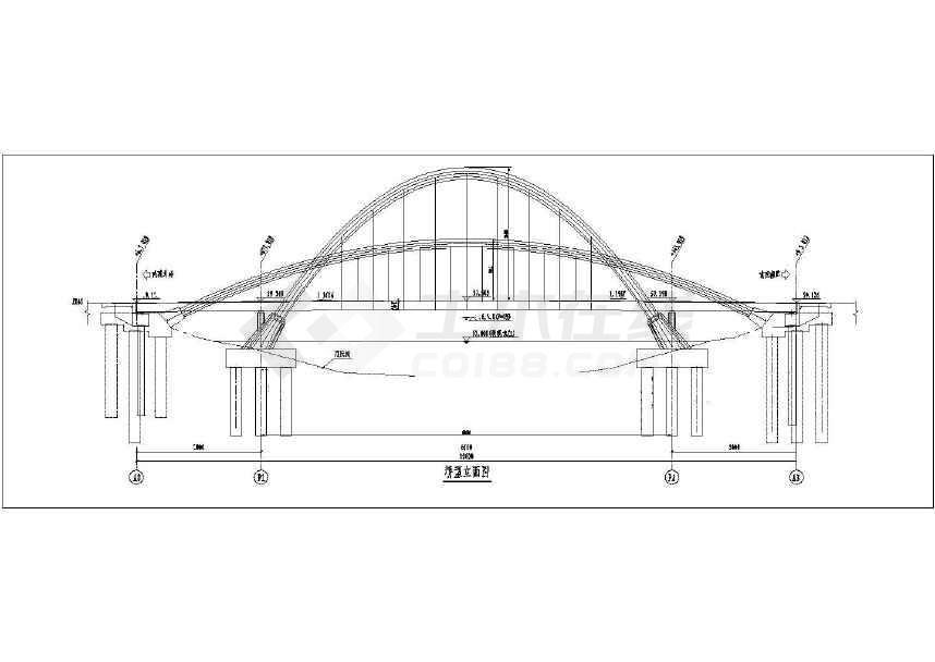 景观桥工程钢结构制作与安装方案施工图