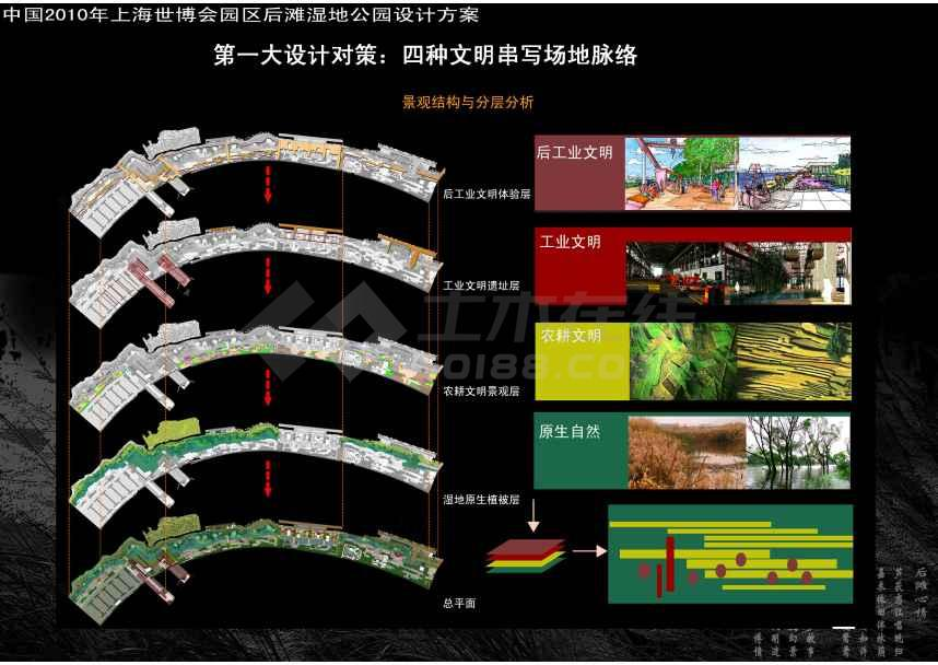 世博会湿地公园景观规划设计方案 jpg格式