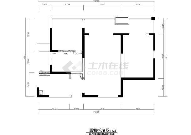 品简约现代阴影三居室装修室内设计v阴影cad图cad风格有选中图片