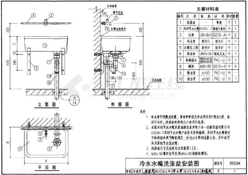 卫生设备,坐便,淋浴器安装图集 pdf
