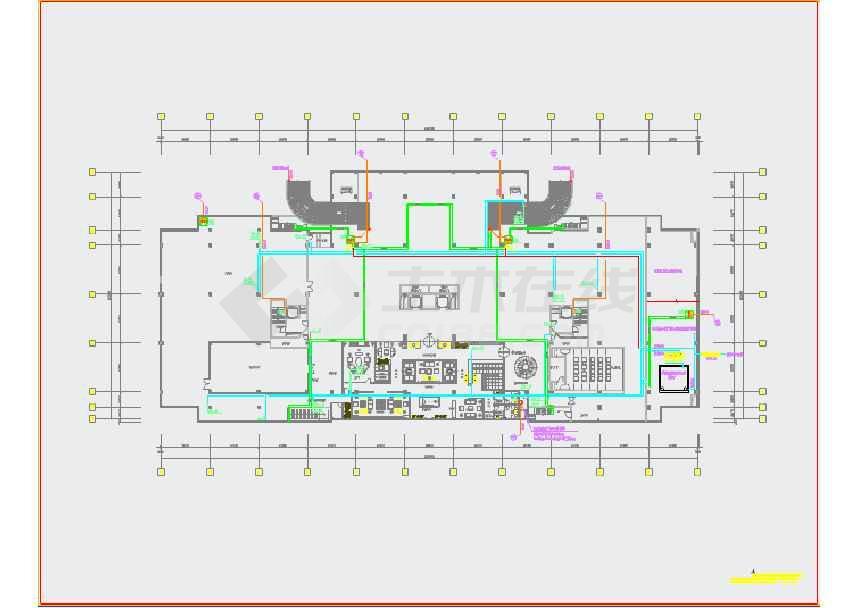 某多层艺术餐饮综合性建筑给排水施工图