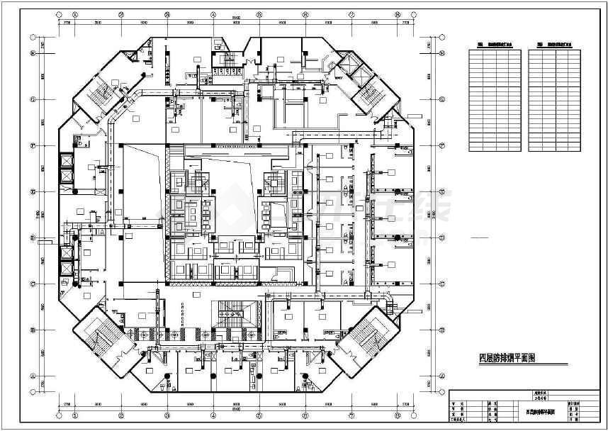 商业娱乐建筑机械通风系统设计施工图