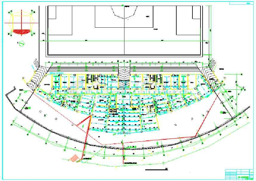某市体育场给排水设计详细施工图纸