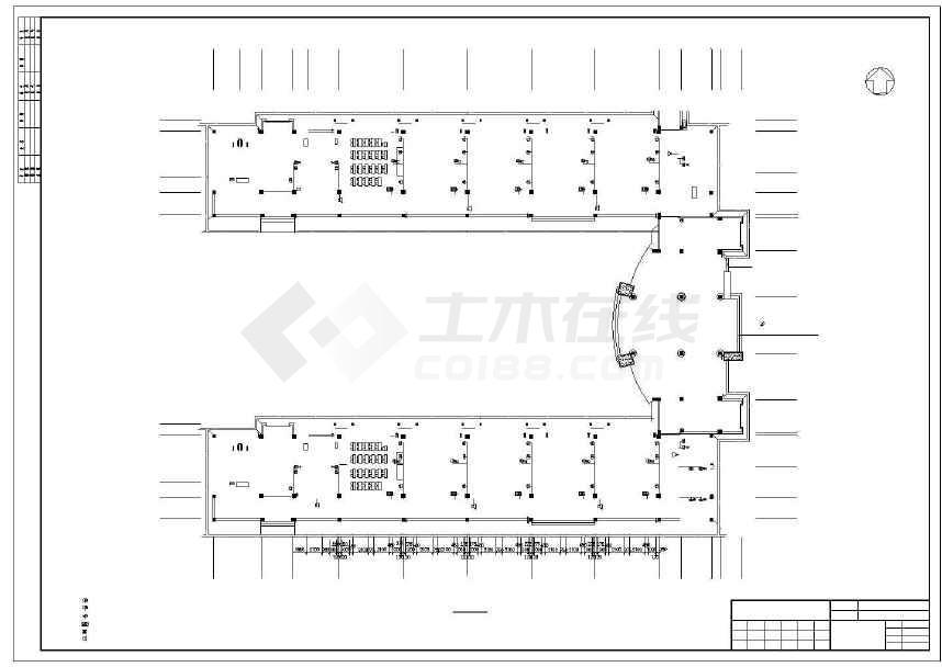 虹桥项目弱电系统施工工程改造招标图纸、小学图纸有文件几种图片