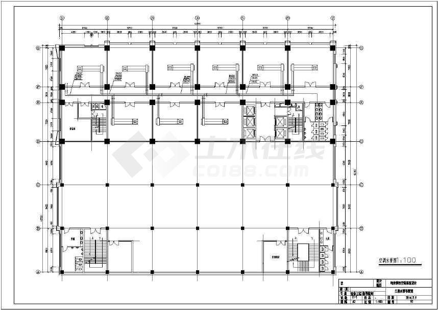 大型公用建筑暖通空调课程设计(含所有负荷计算)-图3