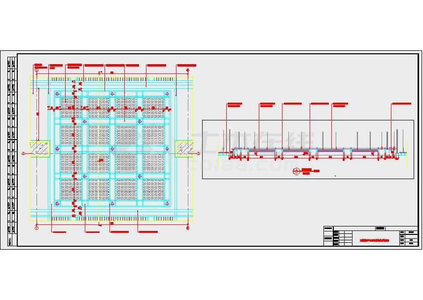 【江苏】地下两层岛式地铁车站站厅站台设计施工图(含