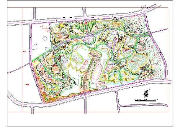 园景观设计施工图
