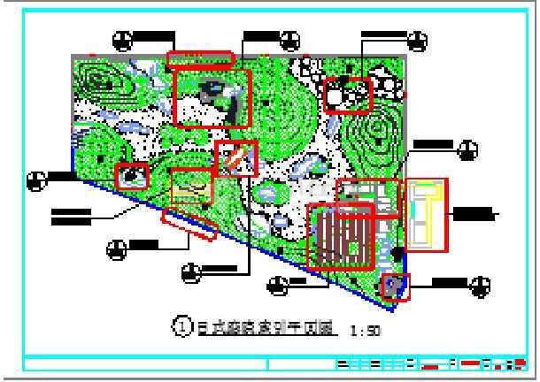 屋顶花园景观设计图 施工图设计 【昆明】庭院屋顶花园景观规划施工图