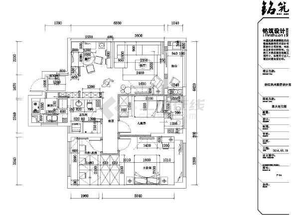 【浙江】杭州某地中海农村田园雅居别墅装修设风格建房自300的平米图纸图片