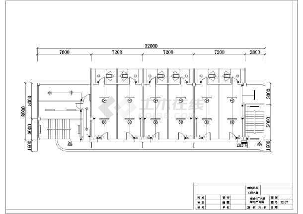 单层厂房 某工业厂房车间电气详细设计施工图(全集)  图纸简介