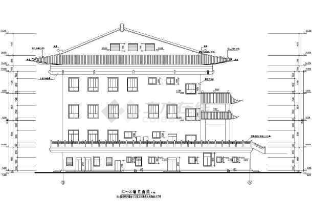2-2剖面图,阁楼平面图