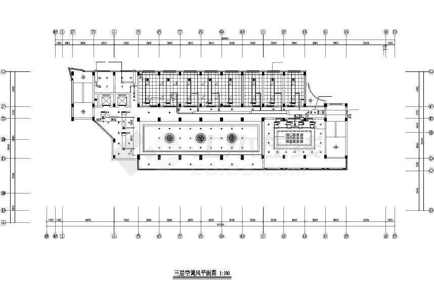 【淮安】某十层办公楼空调系统设计图纸