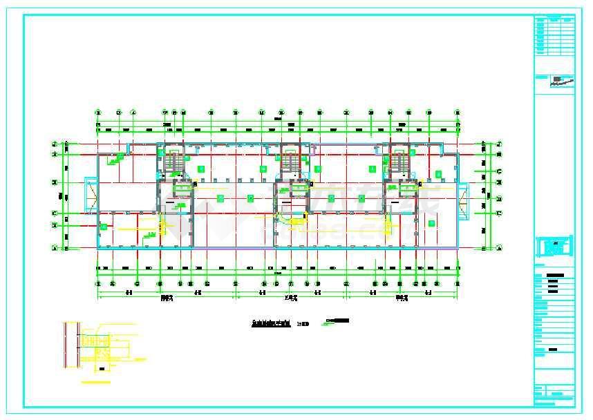 【哈尔滨】某图纸住宅楼小区v图纸标题怎么做cad空调栏图纸图片