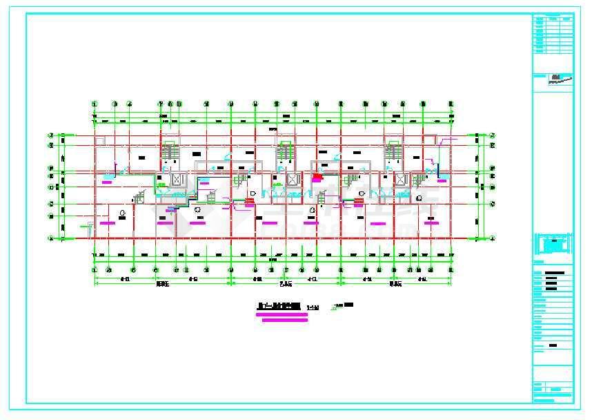【哈尔滨】某图纸住宅楼图纸配置空调盘梦幻西游小区采暖图片