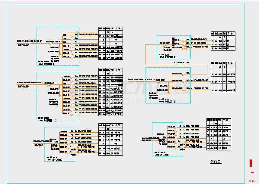 商铺建筑电气设计施工图(商场)  酒吧供配电及照明系统设计施工图纸