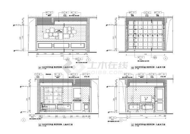 欧式方案豪华别墅样板房修改文字CAD图纸下怎么装修图纸pdf里面风格的图片