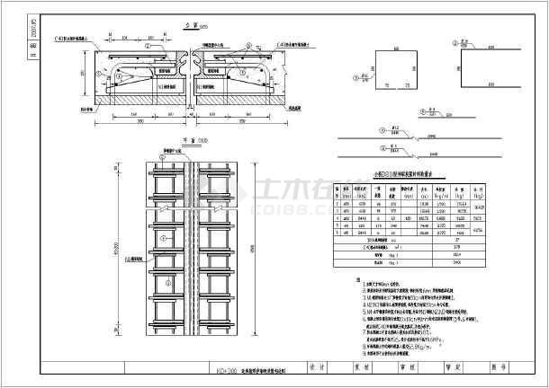 上部结构采用普通钢筋砼连续箱梁;下部结构桥台采用肋板台,桥墩采用