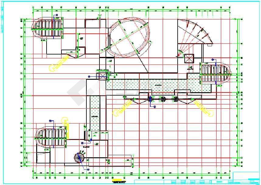 某地3层幼儿园建筑楼设计施工图纸
