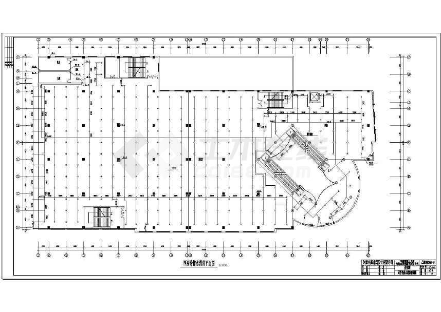 某市大型商场给排水及消防v图纸图纸定制家具图纸手绘图片