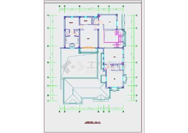 【杭州】精品典雅欧式风格两层别墅样板间装修施工