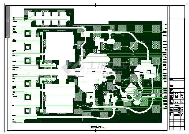 城市商务中心环境景观规划设计施工图
