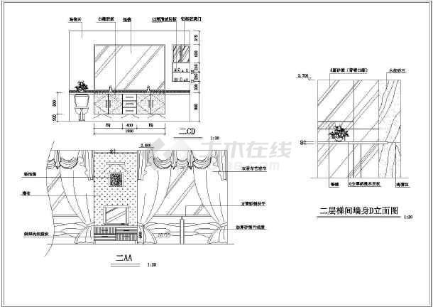 欧式机械风格室内装修图(含手绘+别墅齿轮)_c图纸照片实景图片