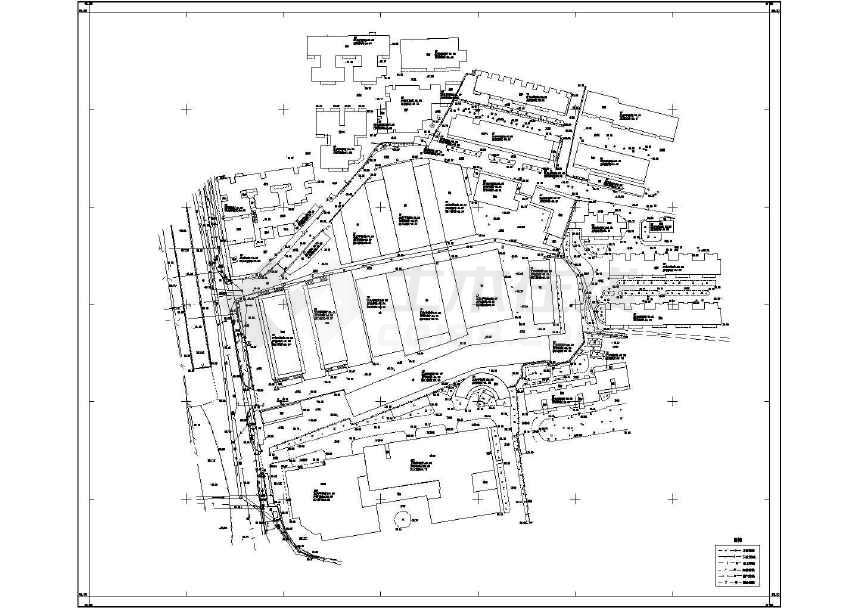 南湖图纸定向安置房地形图纸v图纸片区尾座工程图片