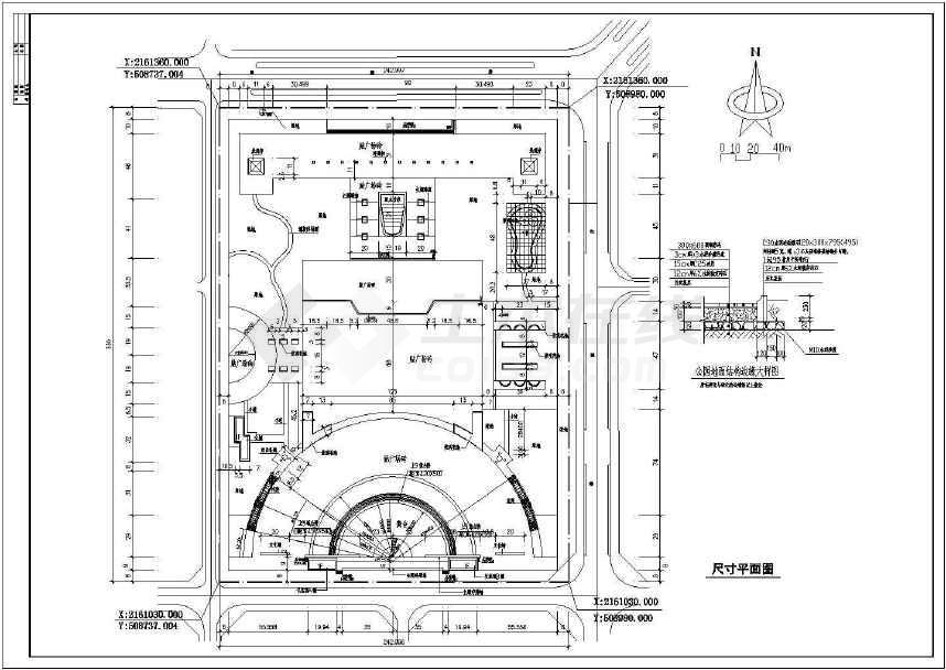 【海南】市民文化公園場地景觀設計施工圖