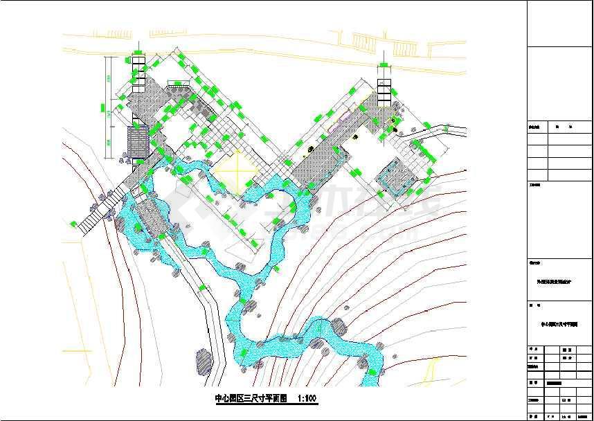 【山东】威海小区全套景观设计施工图图片