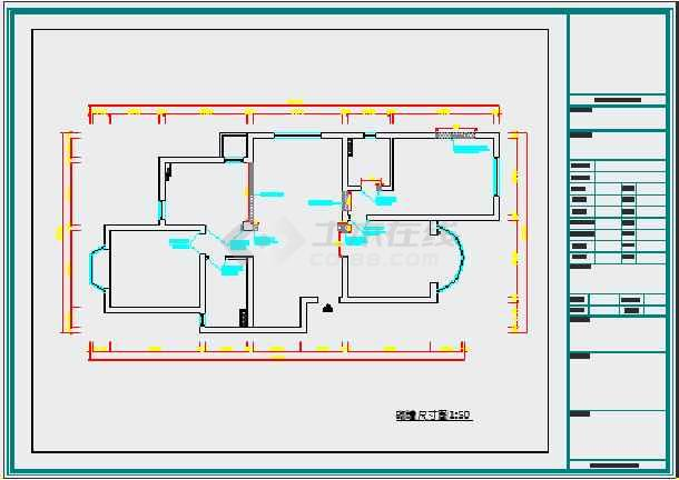 家装水路施工图高清图片
