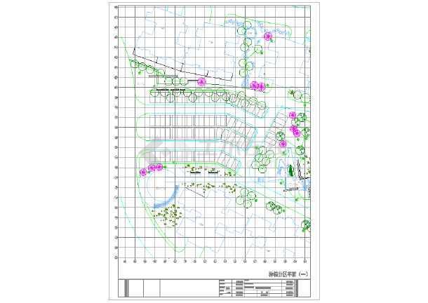【东莞】山顶公园园林景观设计施工图图片