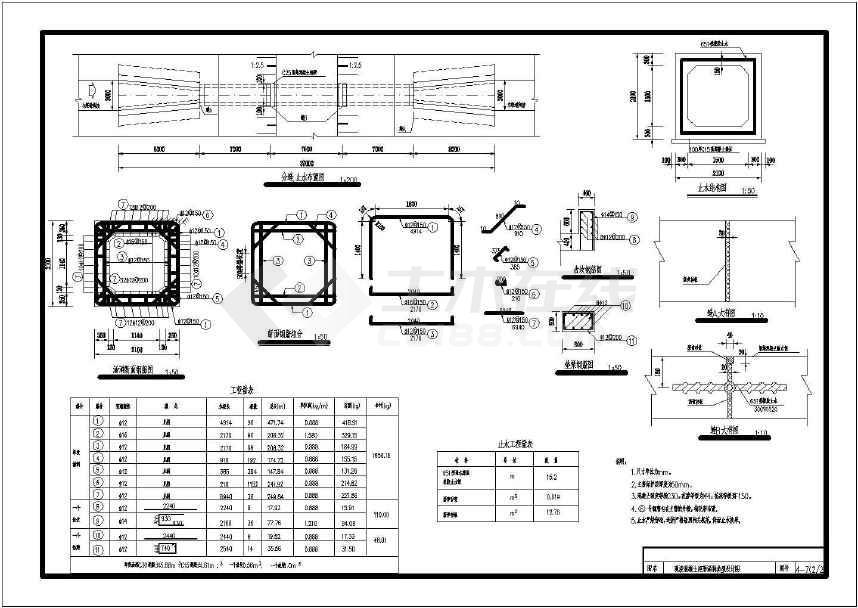 小型农田水利图纸工程设计施工智能图纸会审桥涵会常见问题图片