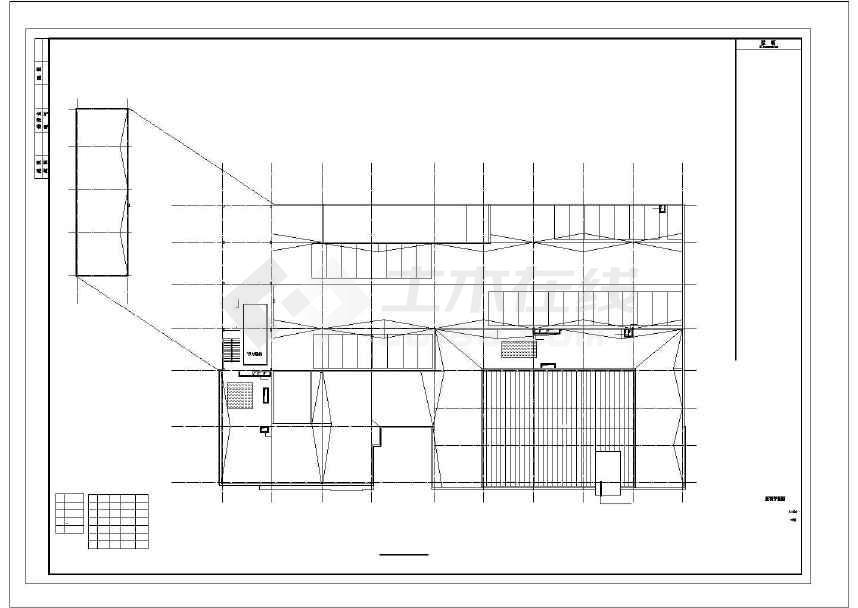 混凝土结构研发中心设计施工图    墙体材料:外墙为压型钢板板 墙梁