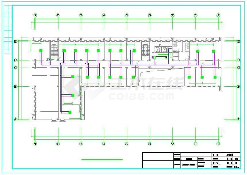 央空调平面设计图