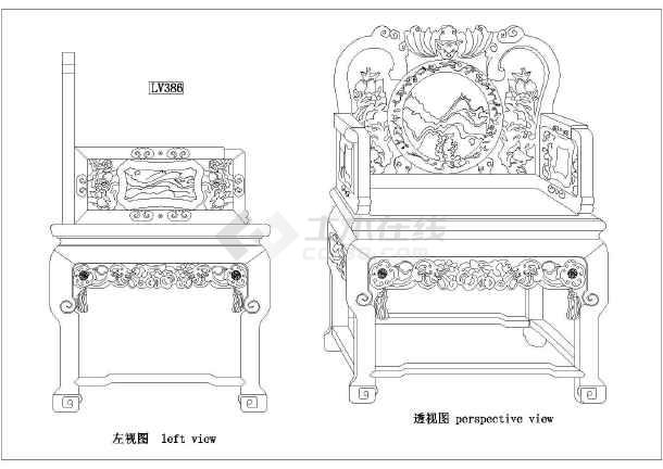 质保图纸 装饰装修施工图 其他装修施工图 家装设计常用标准中式装饰图片