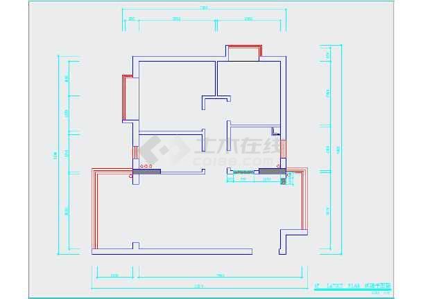 【欧式风格】尺寸小区两居室加宽设计图(含效图纸花园装修图片