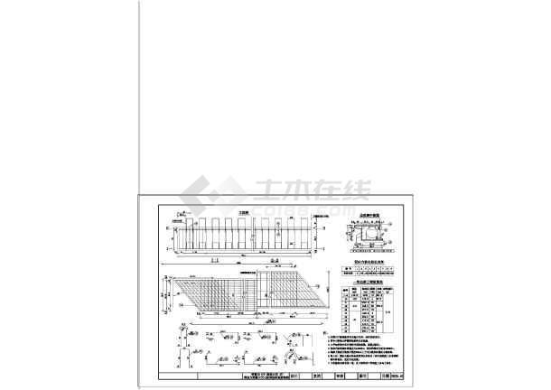 质保图纸 路桥设计图 桥梁设计图 16m跨径预应力混凝土空心板梁设计图